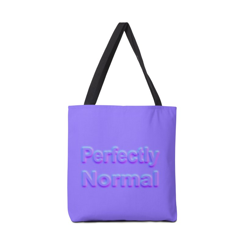 Perfectly Normal Accessories Bag by busybee apparel