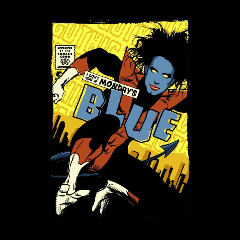 Mondays Blue by butcherbilly's Artist Shop