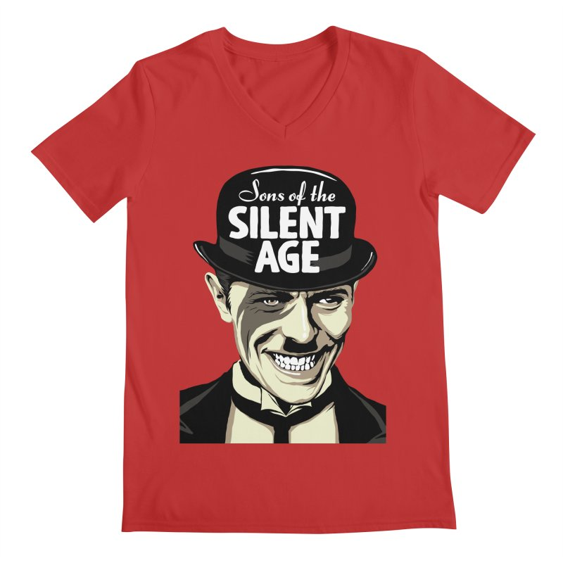 Sons Of The Silent Age Men's V-Neck by butcherbilly's Artist Shop