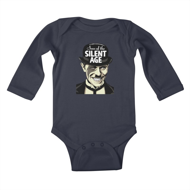 Sons Of The Silent Age Kids Baby Longsleeve Bodysuit by butcherbilly's Artist Shop