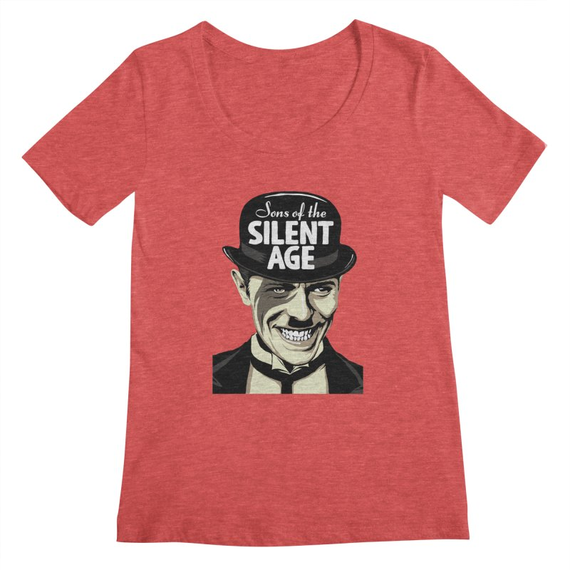 Sons Of The Silent Age Women's Scoopneck by butcherbilly's Artist Shop