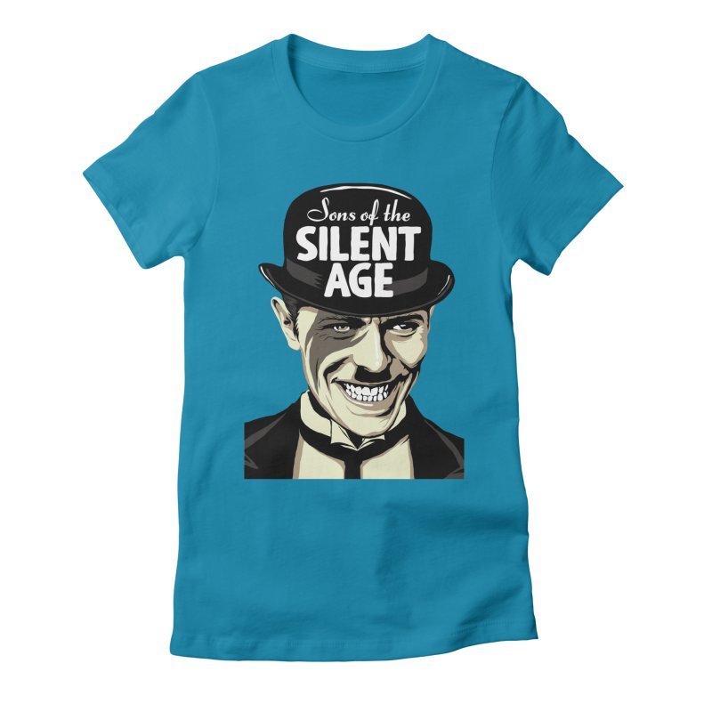 Sons Of The Silent Age Women's Fitted T-Shirt by butcherbilly's Artist Shop