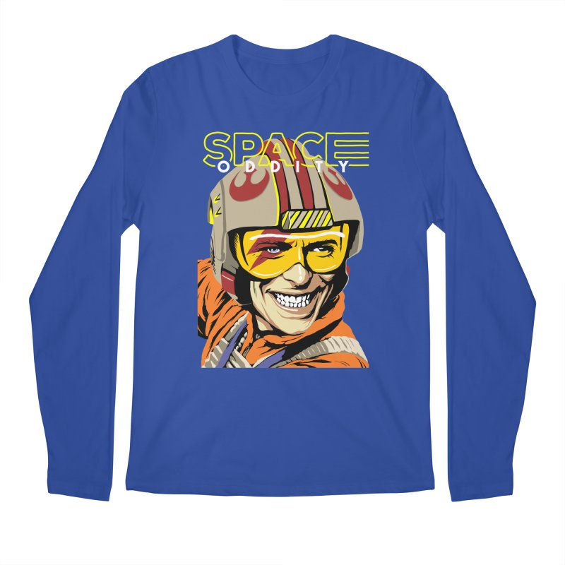 Space Oddity Men's Longsleeve T-Shirt by butcherbilly's Artist Shop