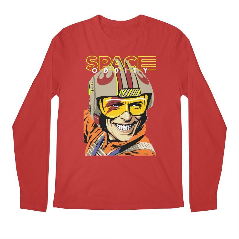 Space Oddity Men's Longsleeve T-Shirt by butcherbilly's Artist Shop