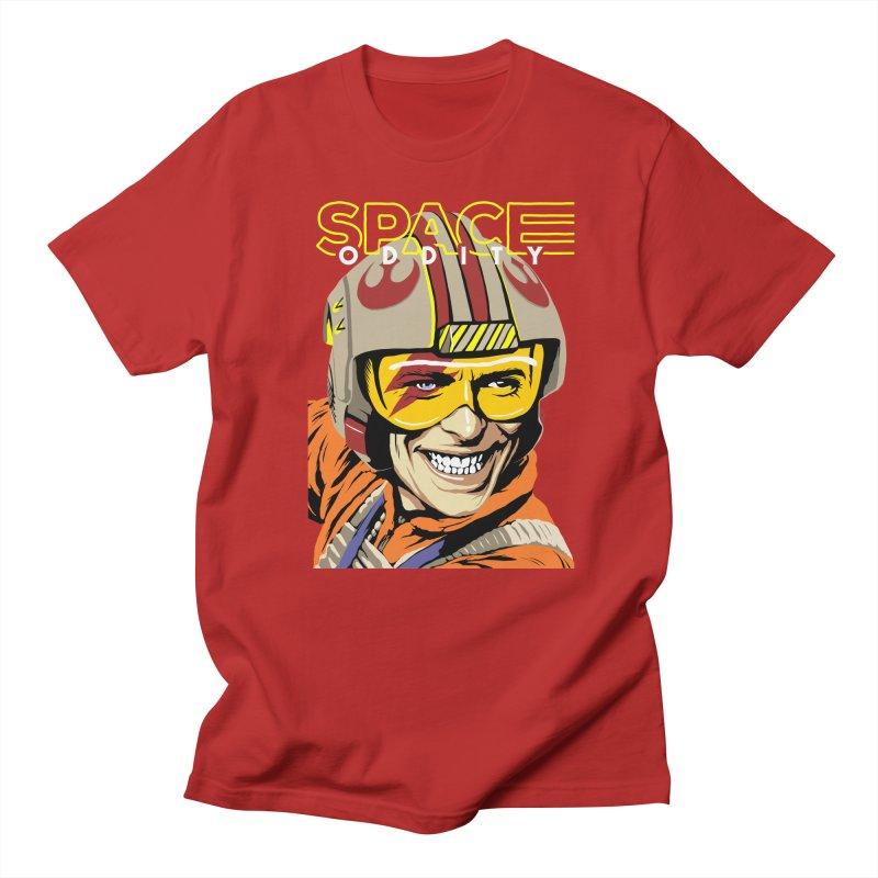 Space Oddity Men's T-shirt by butcherbilly's Artist Shop