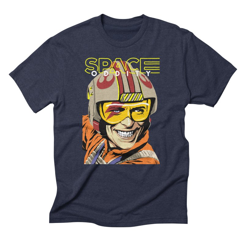 Space Oddity Men's Triblend T-shirt by butcherbilly's Artist Shop