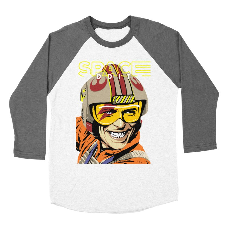 Space Oddity Women's Baseball Triblend T-Shirt by butcherbilly's Artist Shop