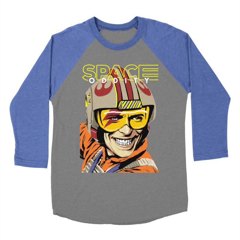 Space Oddity Men's Baseball Triblend T-Shirt by butcherbilly's Artist Shop