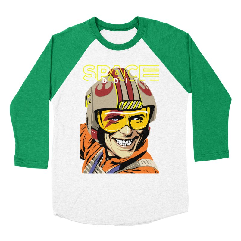 Space Oddity Men's Baseball Triblend T-Shirt by butcherbilly's Artist Shop
