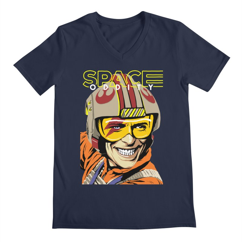 Space Oddity Men's V-Neck by butcherbilly's Artist Shop