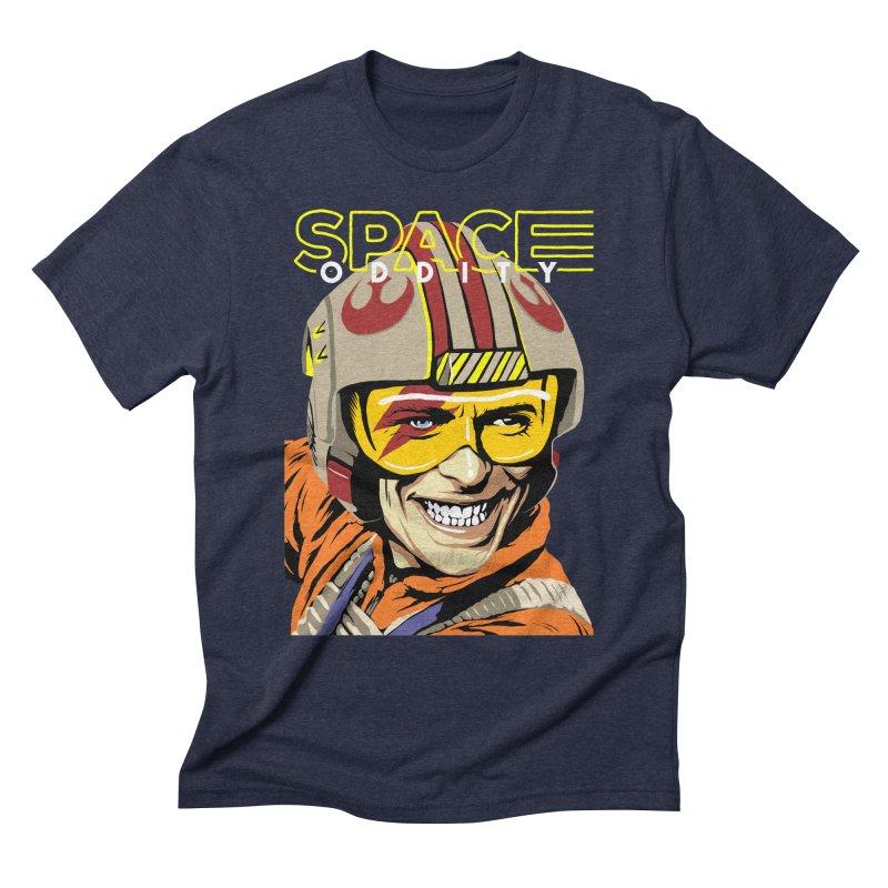 Space Oddity Men's Triblend T-shirt by butcherbilly's Artist Shop