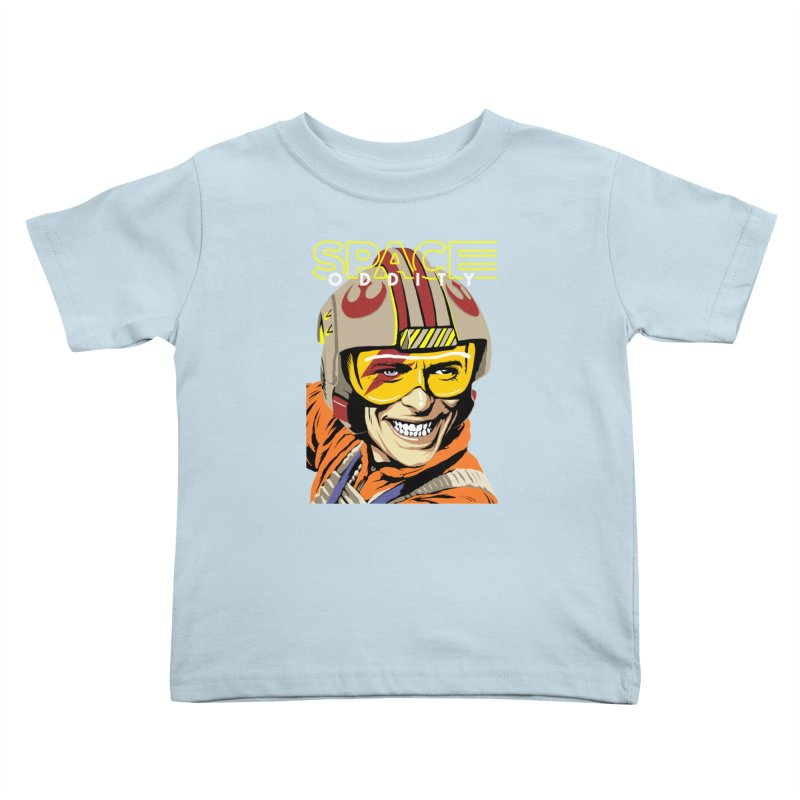 Space Oddity Kids Toddler T-Shirt by butcherbilly's Artist Shop