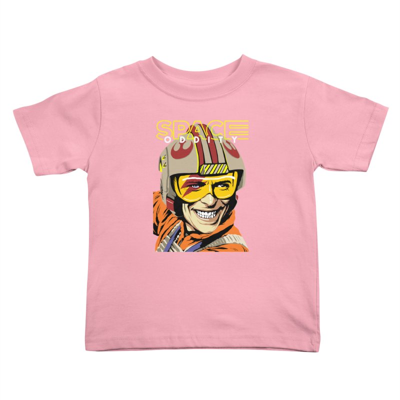 Space Oddity Kids Toddler T-Shirt by butcherbilly's Artist Shop