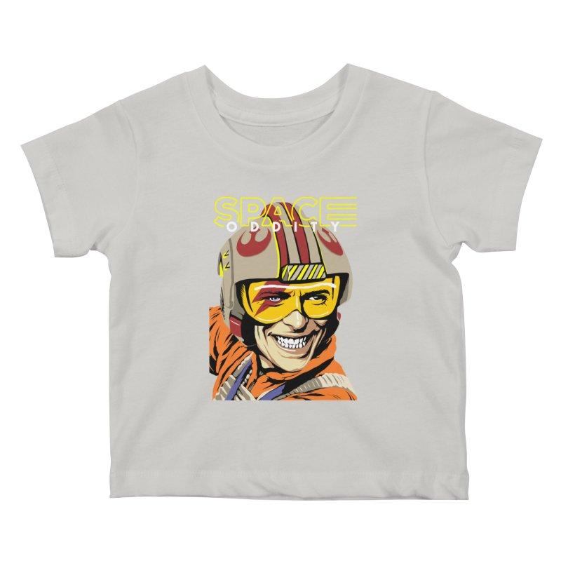Space Oddity Kids Baby T-Shirt by butcherbilly's Artist Shop