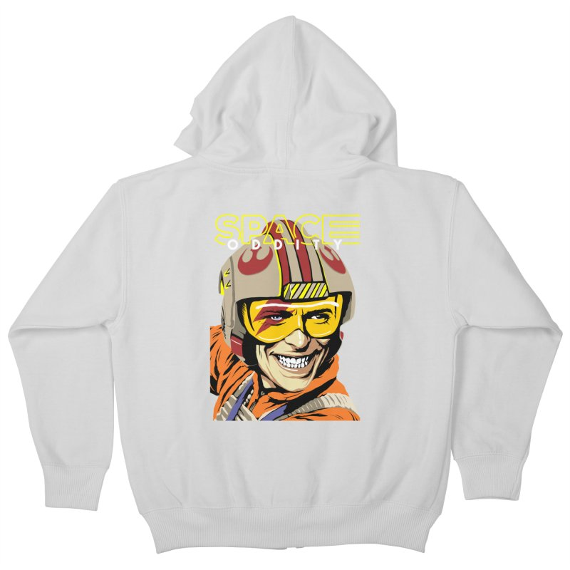Space Oddity Kids Zip-Up Hoody by butcherbilly's Artist Shop