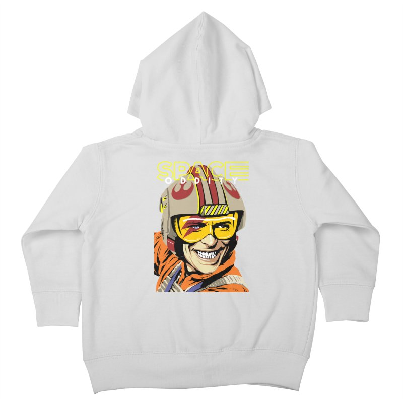 Space Oddity Kids Toddler Zip-Up Hoody by butcherbilly's Artist Shop