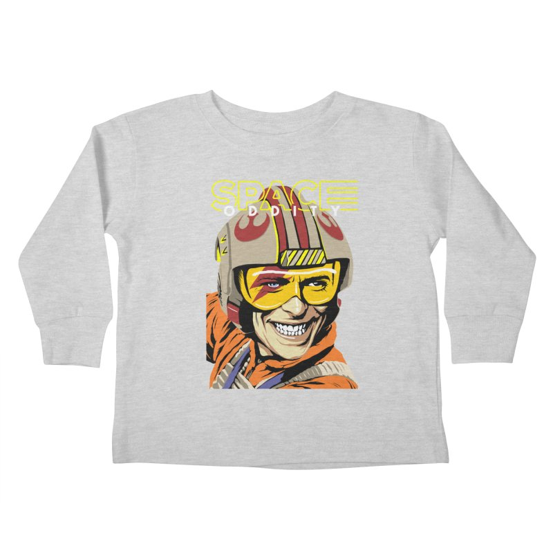 Space Oddity Kids Toddler Longsleeve T-Shirt by butcherbilly's Artist Shop