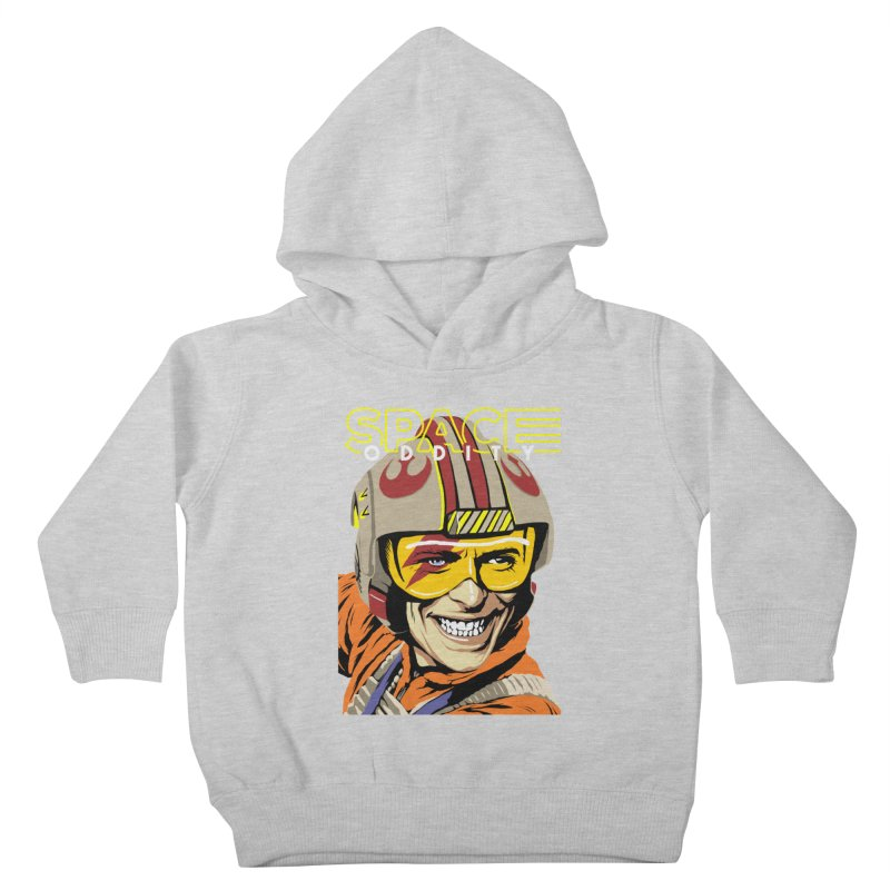 Space Oddity Kids Toddler Pullover Hoody by butcherbilly's Artist Shop