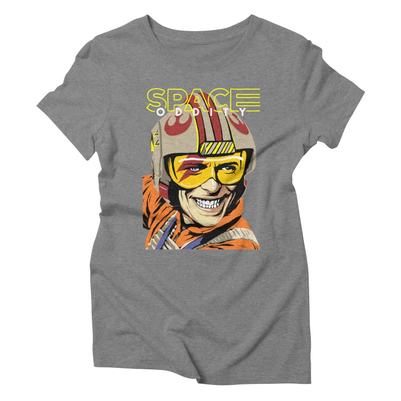 Space Oddity Women's Triblend T-shirt by butcherbilly's Artist Shop