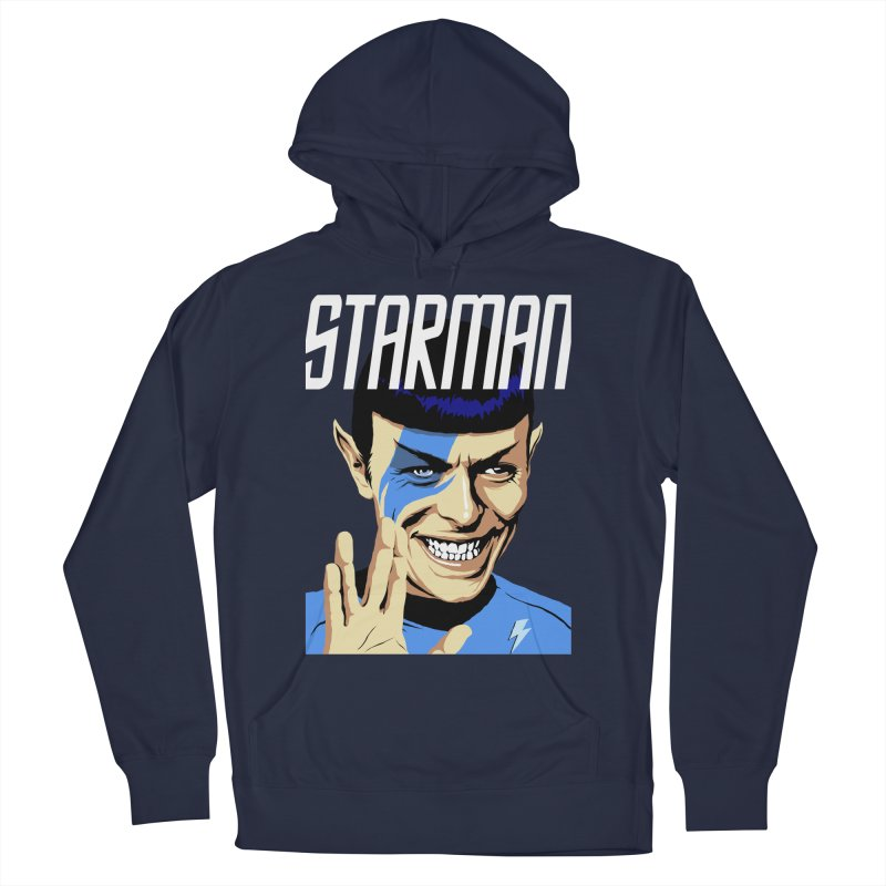 Starman Women's Pullover Hoody by butcherbilly's Artist Shop