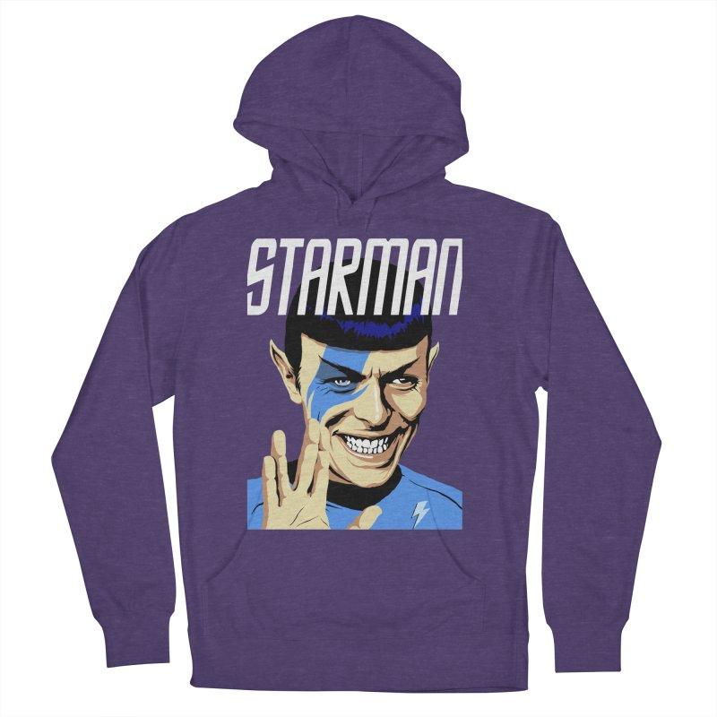 Starman Men's Pullover Hoody by butcherbilly's Artist Shop