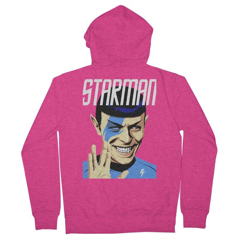 Starman Women's Zip-Up Hoody by butcherbilly's Artist Shop