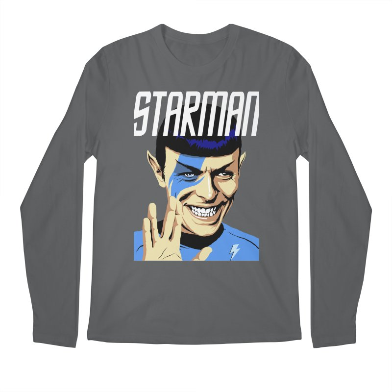 Starman Men's Longsleeve T-Shirt by butcherbilly's Artist Shop