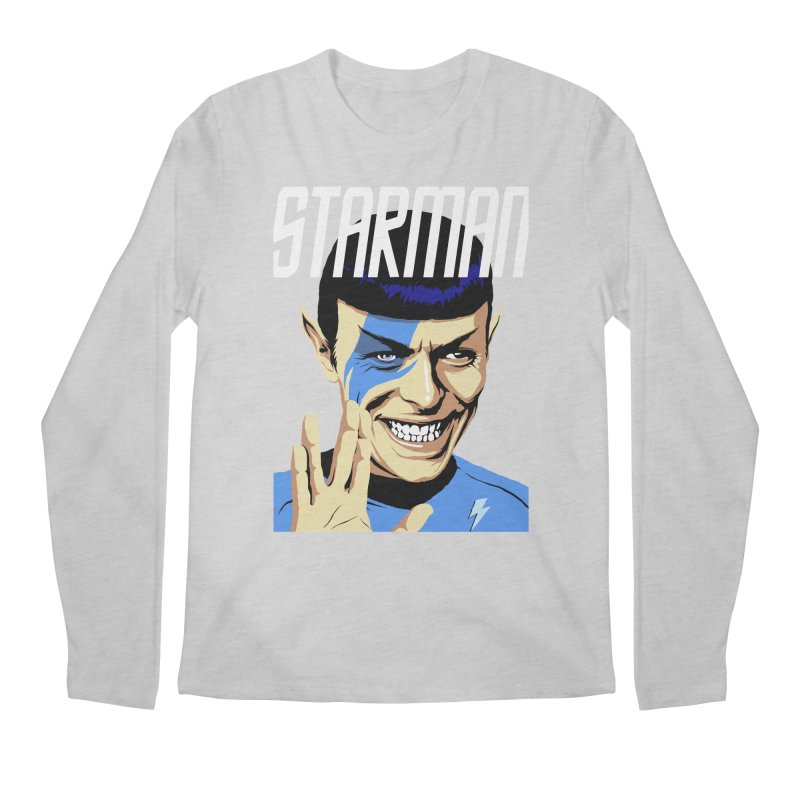 Starman Men's Longsleeve T-Shirt by butcherbilly's Artist Shop