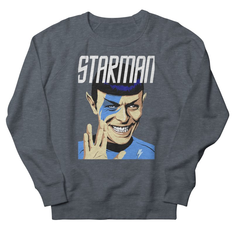 Starman Men's Sweatshirt by butcherbilly's Artist Shop