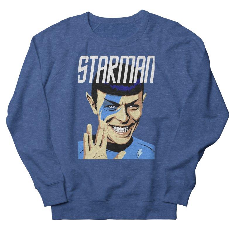 Starman Men's Sweatshirt by butcherbilly's Artist Shop