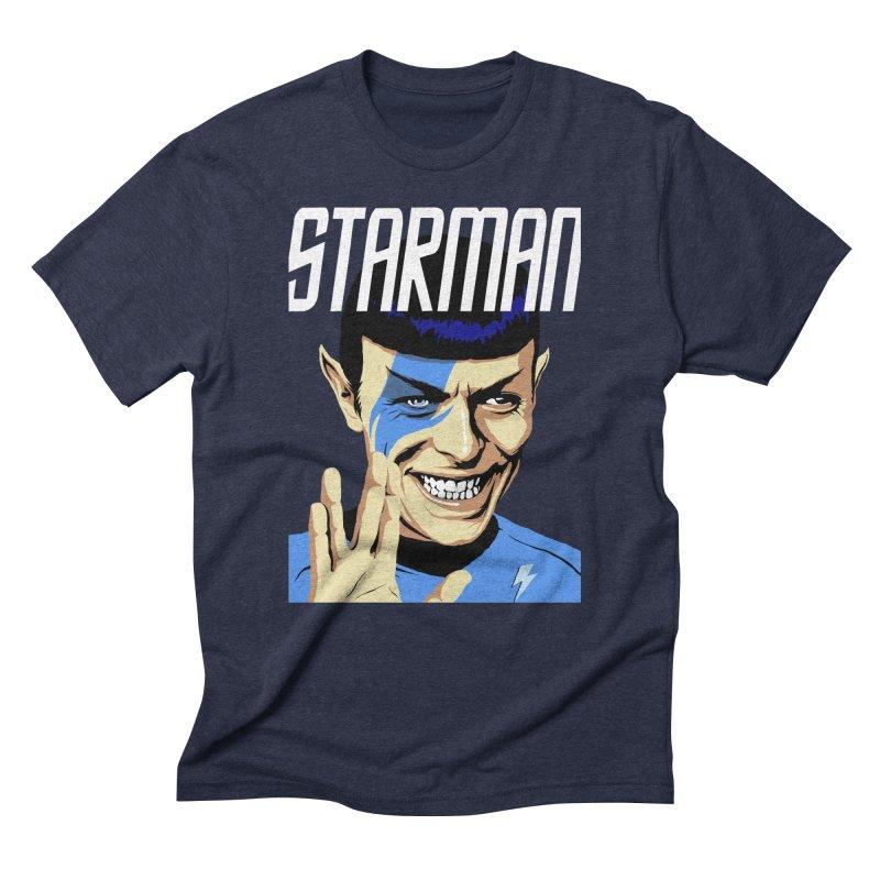 Starman Men's Triblend T-Shirt by butcherbilly's Artist Shop