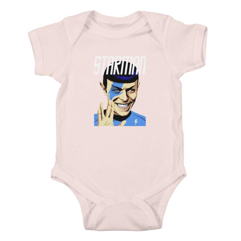 Starman Kids Baby Bodysuit by butcherbilly's Artist Shop