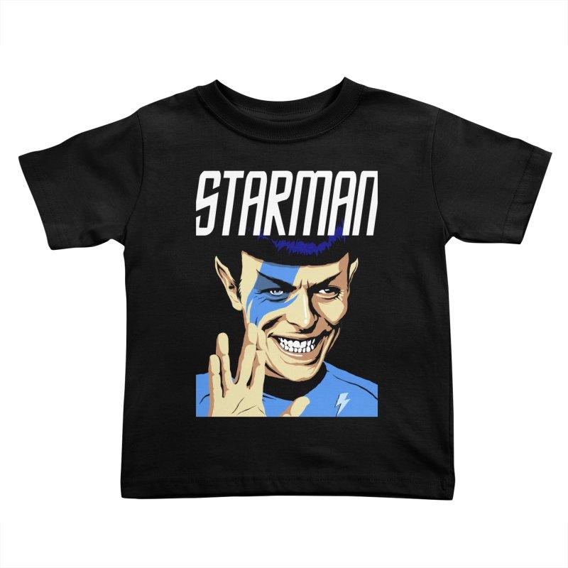 Starman Kids Toddler T-Shirt by butcherbilly's Artist Shop