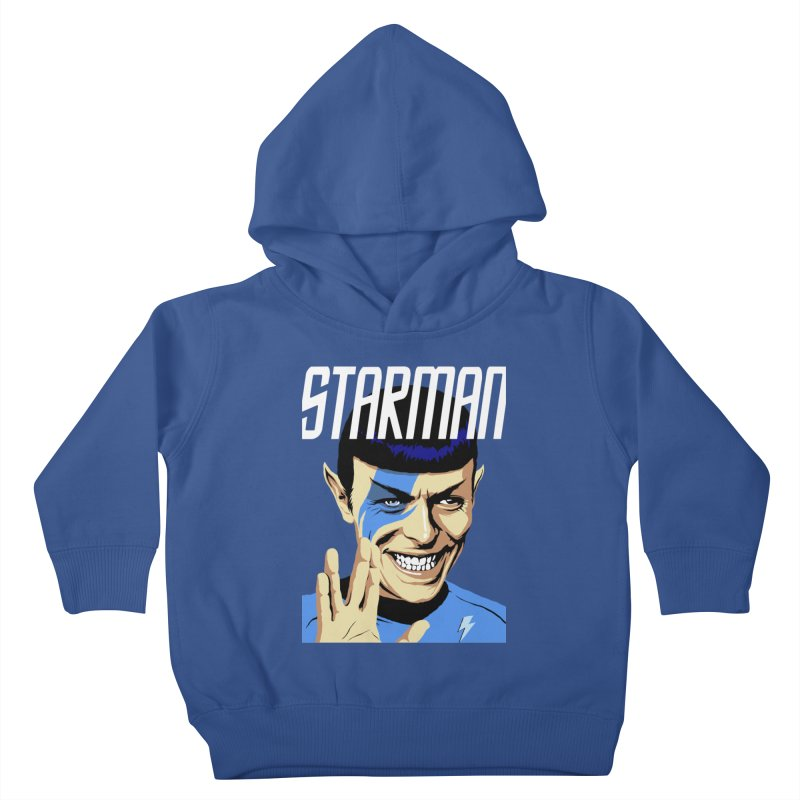 Starman Kids Toddler Pullover Hoody by butcherbilly's Artist Shop