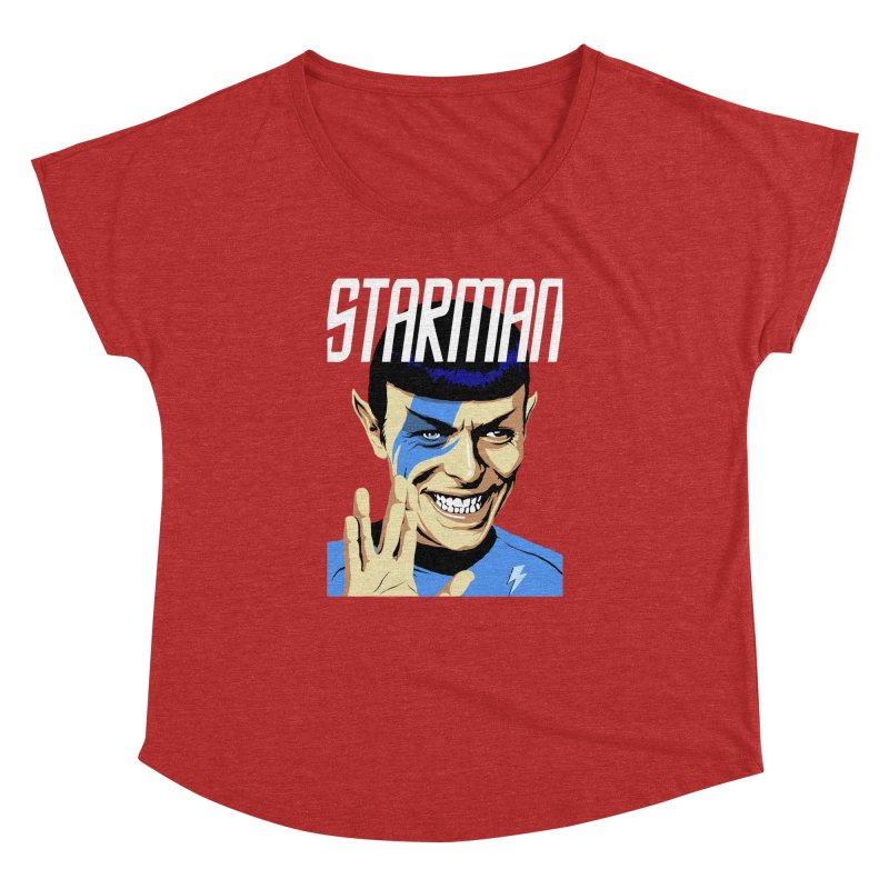 Starman Women's Dolman by butcherbilly's Artist Shop