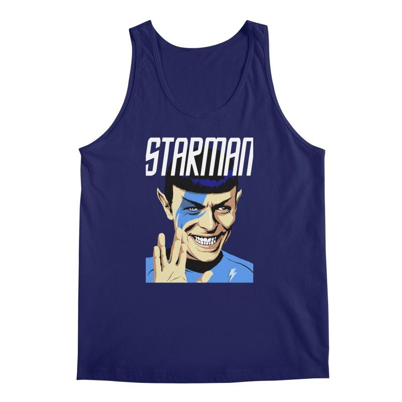 Starman Men's Tank by butcherbilly's Artist Shop