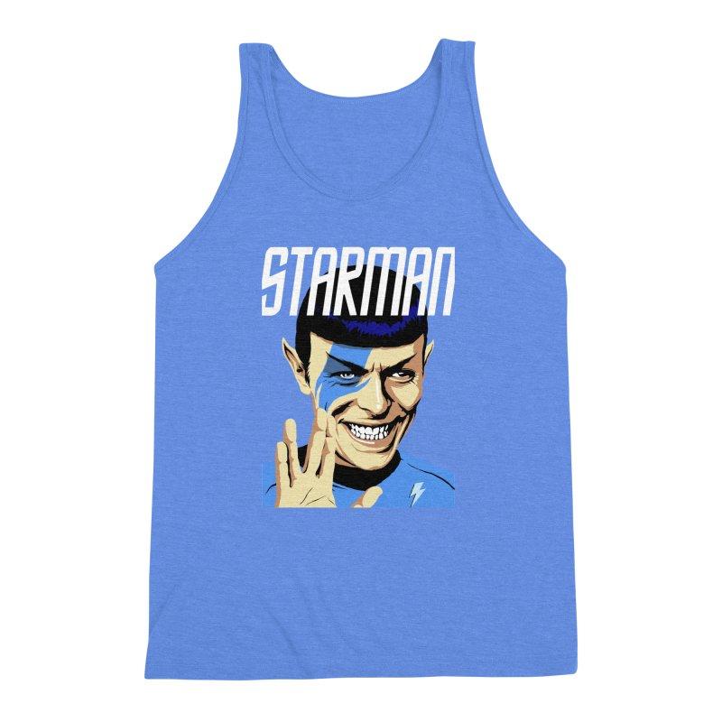 Starman Men's Triblend Tank by butcherbilly's Artist Shop