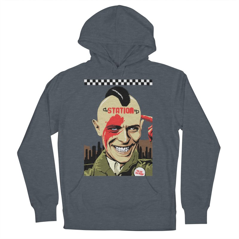 Station 2 Station  Men's Pullover Hoody by butcherbilly's Artist Shop