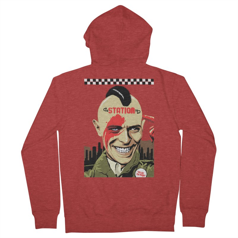 Station 2 Station  Women's Zip-Up Hoody by butcherbilly's Artist Shop