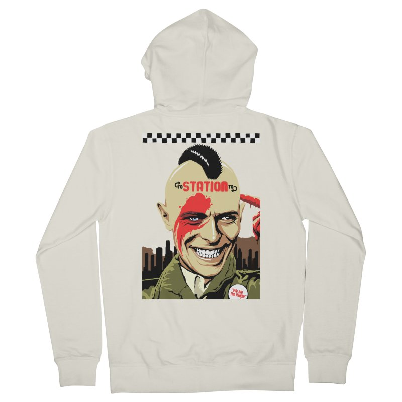 Station 2 Station  Men's Zip-Up Hoody by butcherbilly's Artist Shop