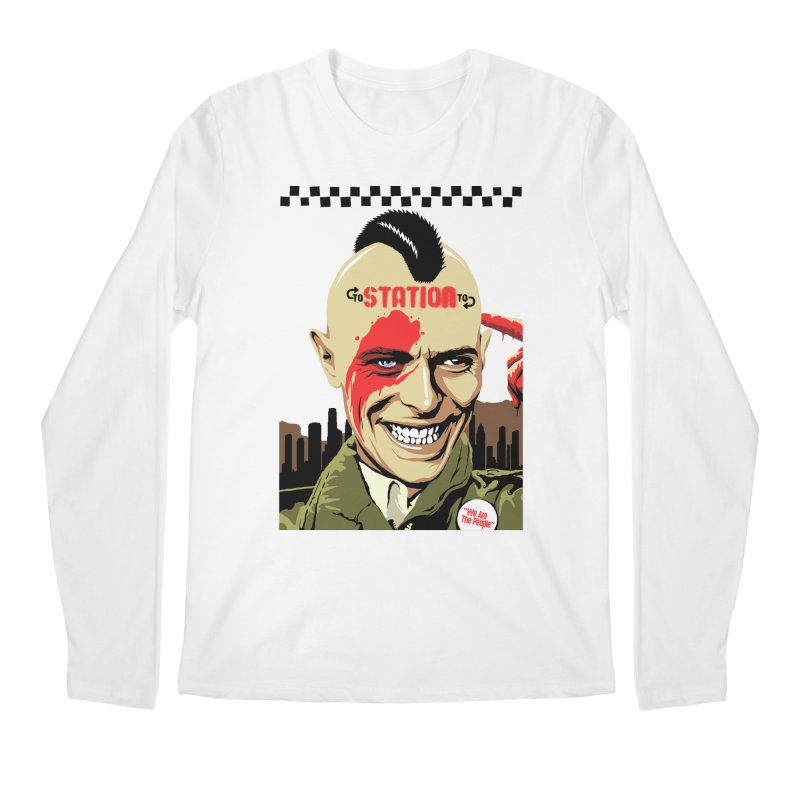 Station 2 Station  Men's Longsleeve T-Shirt by butcherbilly's Artist Shop