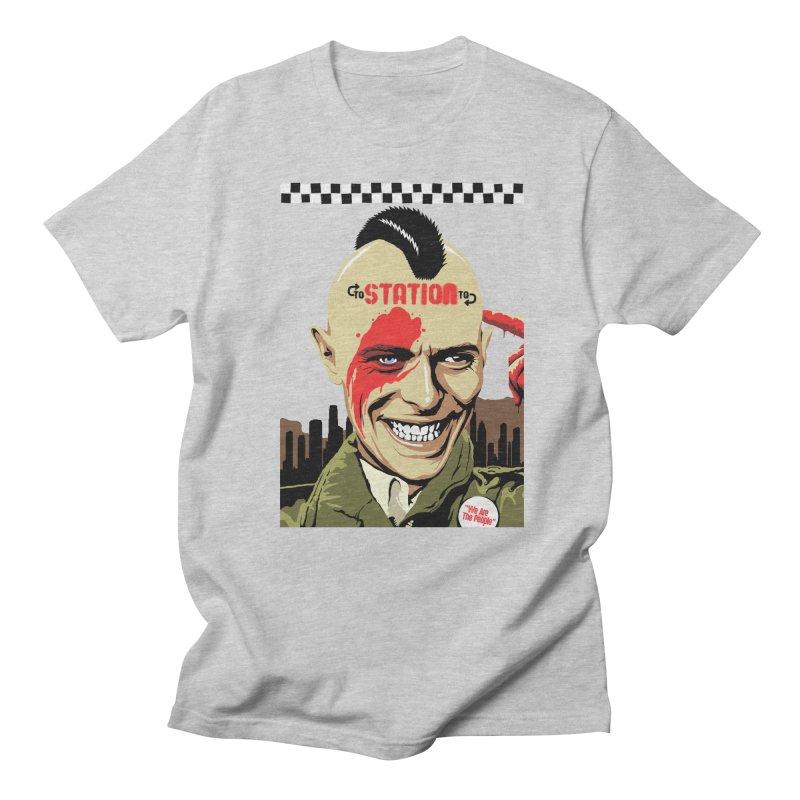 Station 2 Station  Men's T-Shirt by butcherbilly's Artist Shop