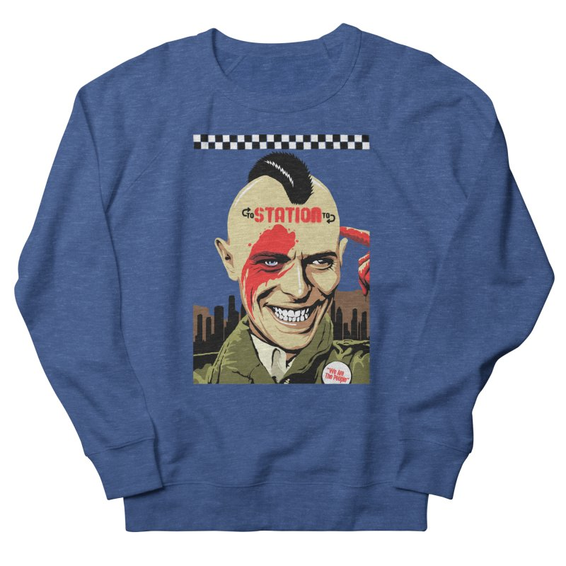 Station 2 Station  Men's Sweatshirt by butcherbilly's Artist Shop