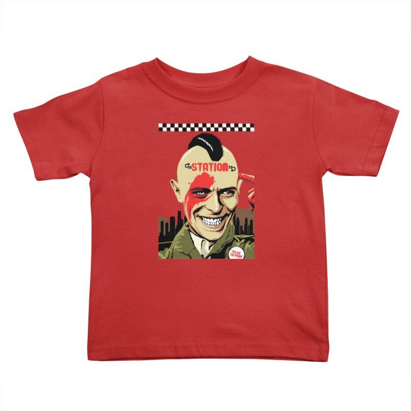 Station 2 Station  Kids Toddler T-Shirt by butcherbilly's Artist Shop