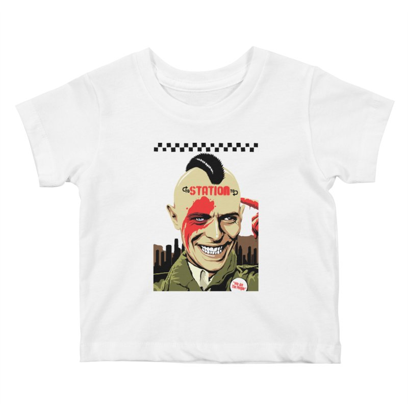 Station 2 Station  Kids Baby T-Shirt by butcherbilly's Artist Shop