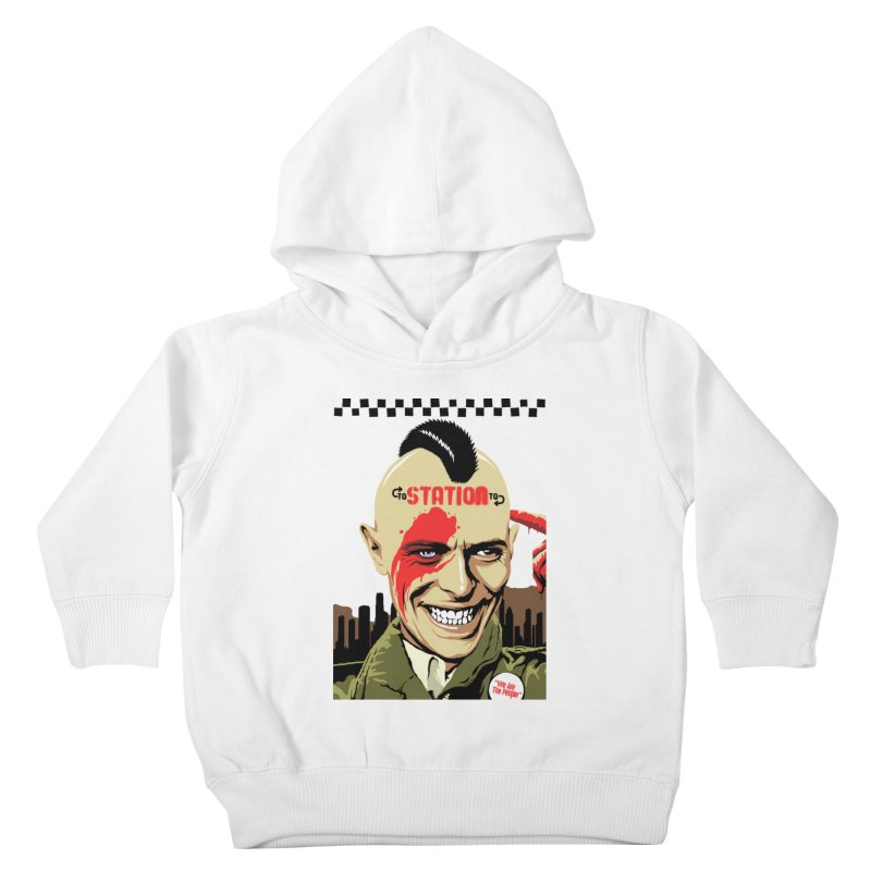 Station 2 Station  Kids Toddler Pullover Hoody by butcherbilly's Artist Shop