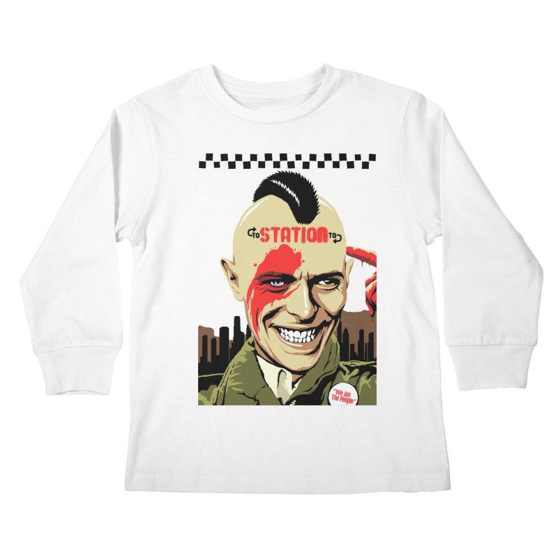 Station 2 Station  Kids Longsleeve T-Shirt by butcherbilly's Artist Shop