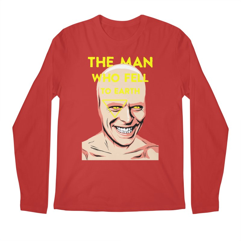The Man Who Fell To Earth  Men's Longsleeve T-Shirt by butcherbilly's Artist Shop