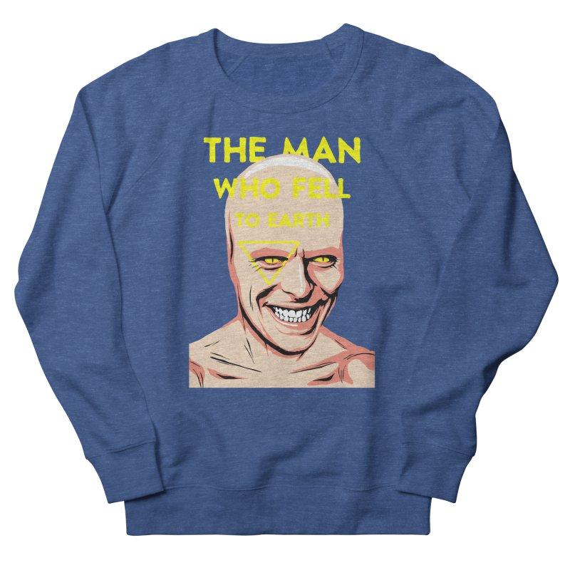 The Man Who Fell To Earth  Women's Sweatshirt by butcherbilly's Artist Shop