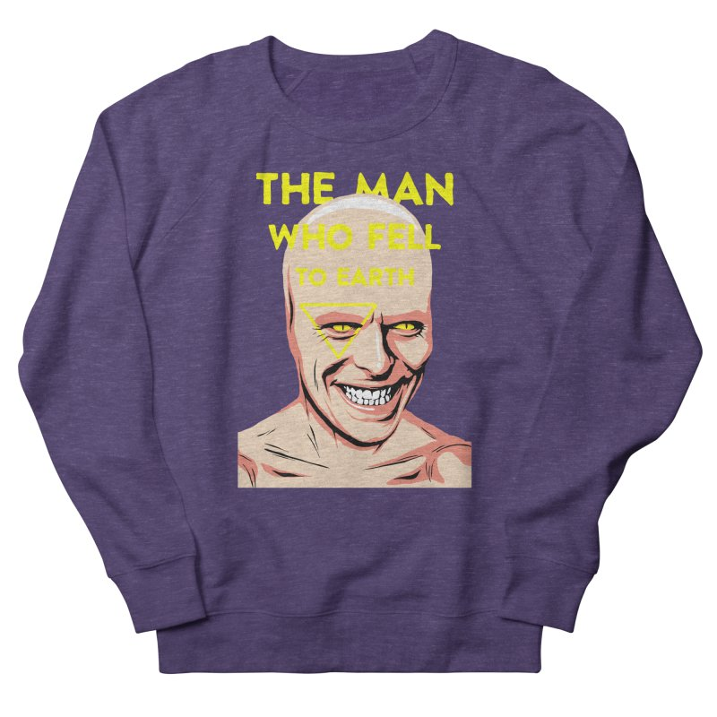 The Man Who Fell To Earth  Women's Sweatshirt by butcherbilly's Artist Shop